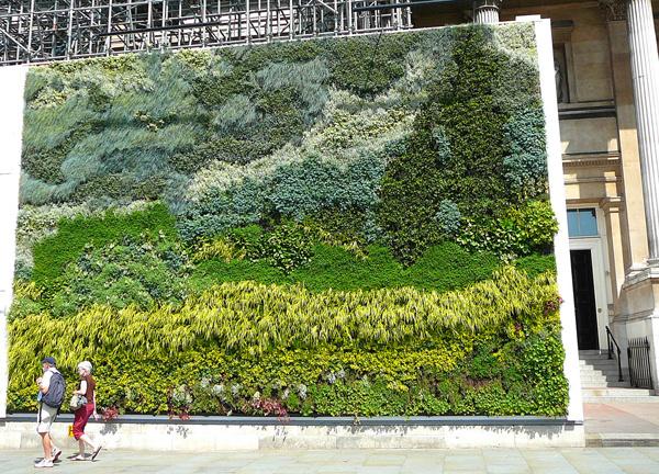 室外花墙设计图片